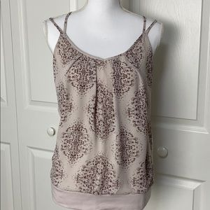 Maurices Boho lace floral detail cami